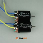 scaleclub 540 brushed motor 27T 35T